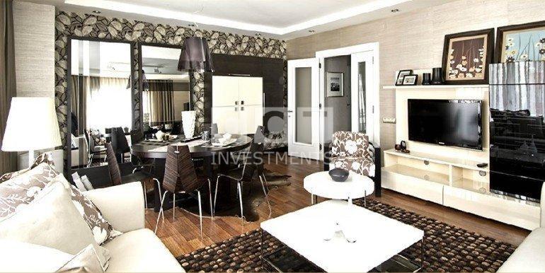 Esenyurt Apartment Living Room