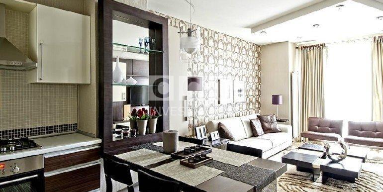 Esenyurt Flat Living Area