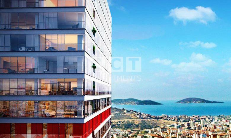 Sea View of Asian Side Istanbul Project