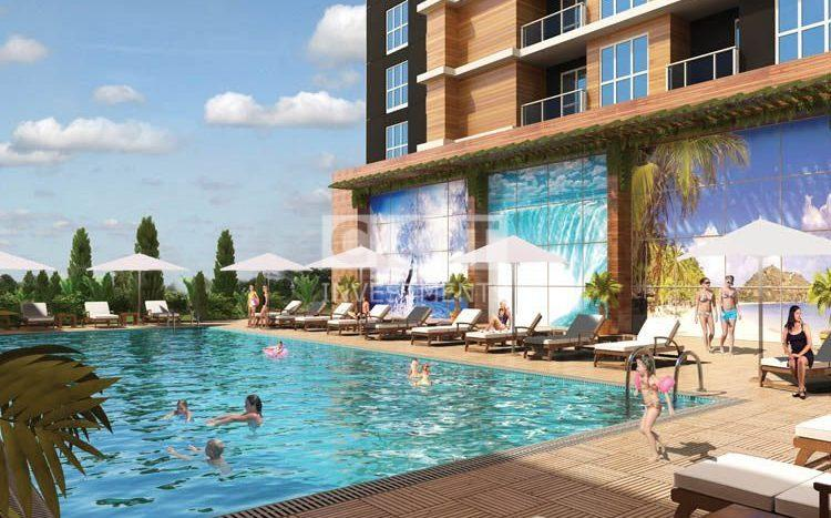 Bahcesehir Pool Inside the Project