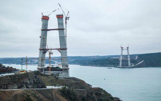 Istanbul 3rd Bridge Construction