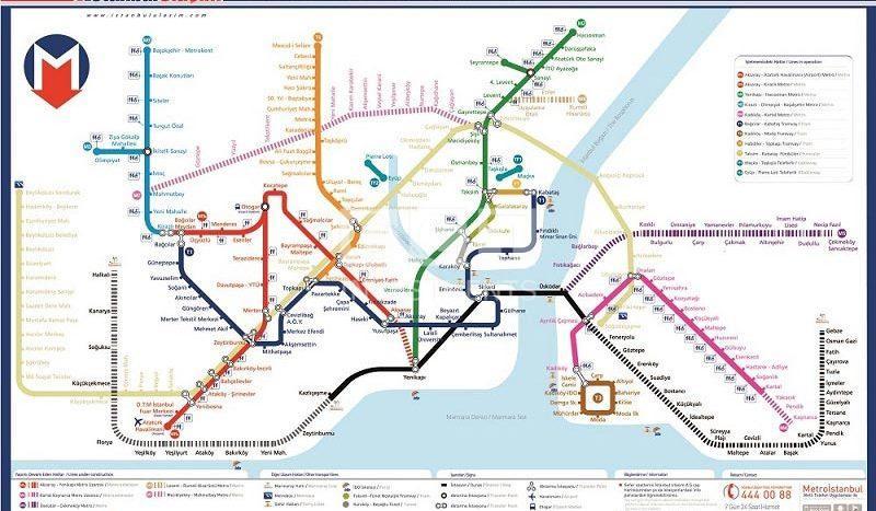 Istanbul Metro 2023
