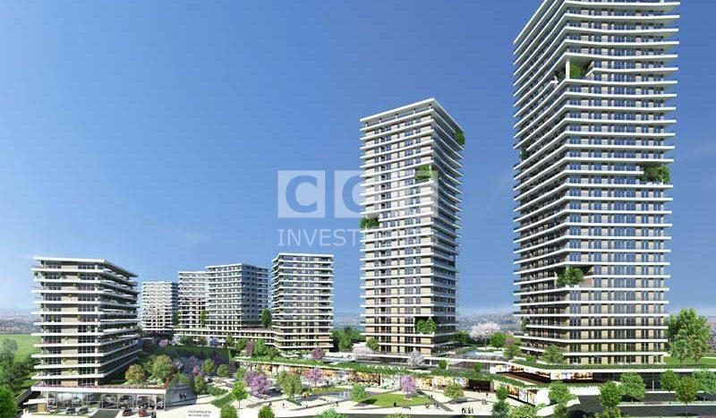Towes in Bahcesehir Project