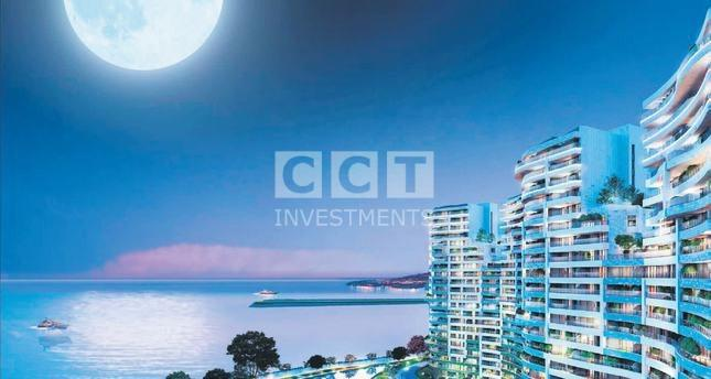 Sea view apartments for sale in atakoy image