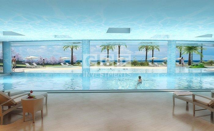 luxury sea front image
