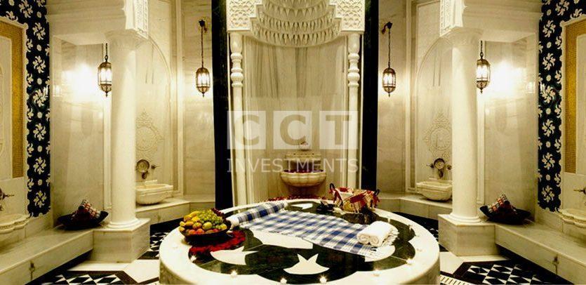 صورة الحمام العثماني التركي