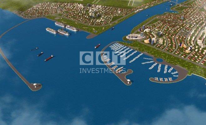 صورة بداية مشروع قناة اسطنبول الجديدة في 2016
