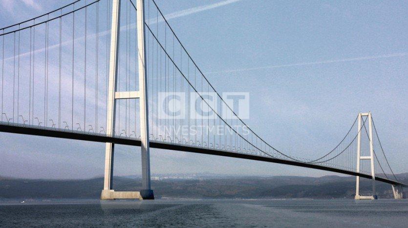 جسر ازميت صورة