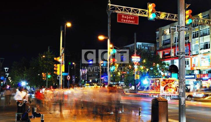 bagdat street istanul image