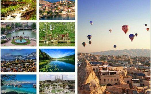 touristic destinations in turkey