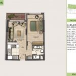 Beylikduzu 1+1 Floor Plan