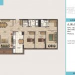 3+1 Floor Plan Beylikduzu