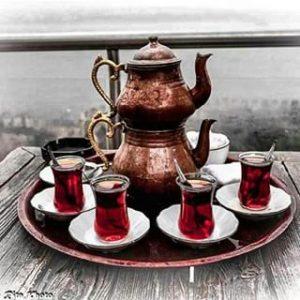 Drinking Tea photo