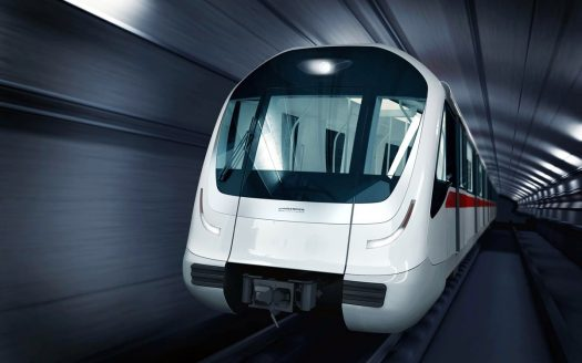 Driverless metro in istanbul image