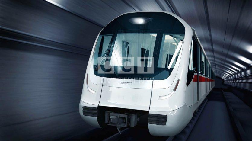 Driverless metro in istanbul image