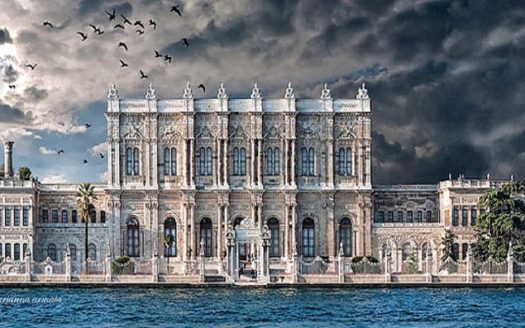 dolmabahce palace photo