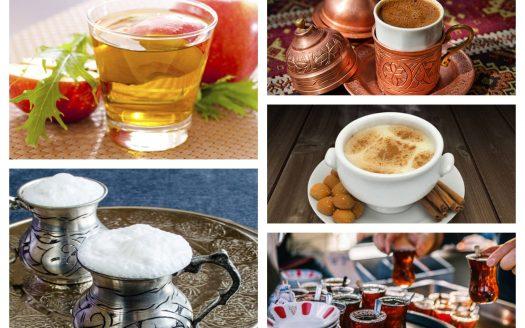صورة اشهر المشروبات التركية