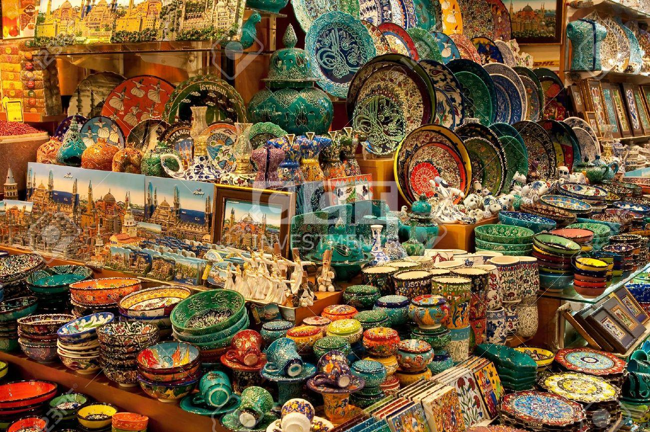 Turkish Home Decor Markets For Souvenirs In Istanbul Cct Investments