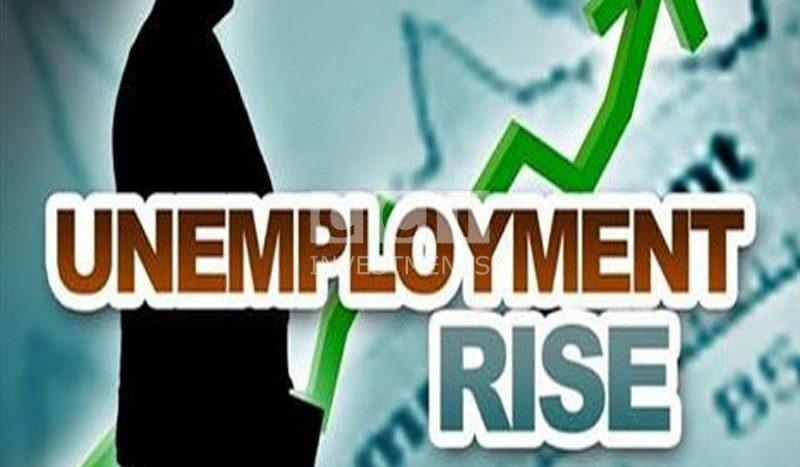 Unemloyment rates increases image