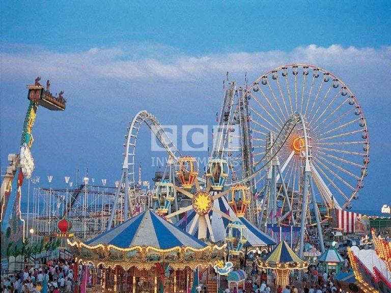 Venice beach roller coaster