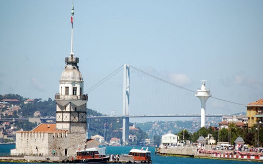 صورة برج الفتاة اسطنبول