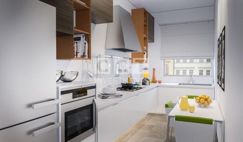Etiler Flat Kitchen