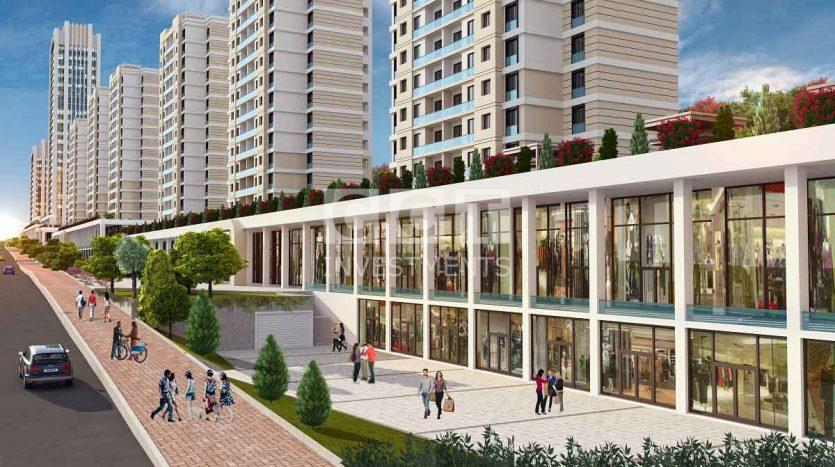 Bahcesehir Project Shops