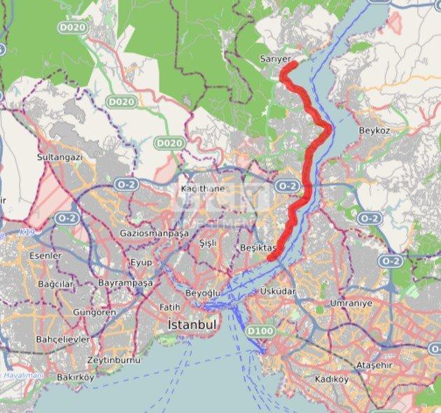 Besiktas-Sarıyer-Metro-Line