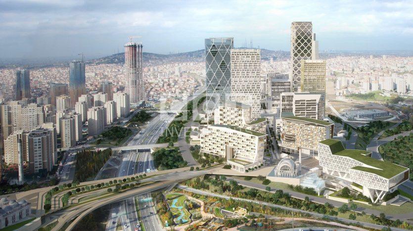 استكمال-بناء-المركز-المالي-في-اسطنبول-في-عام-2022