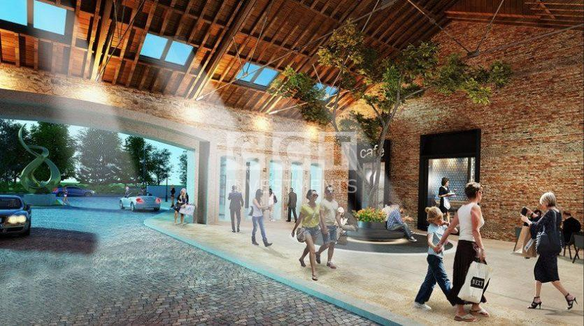 Shops area in CCT 226 project