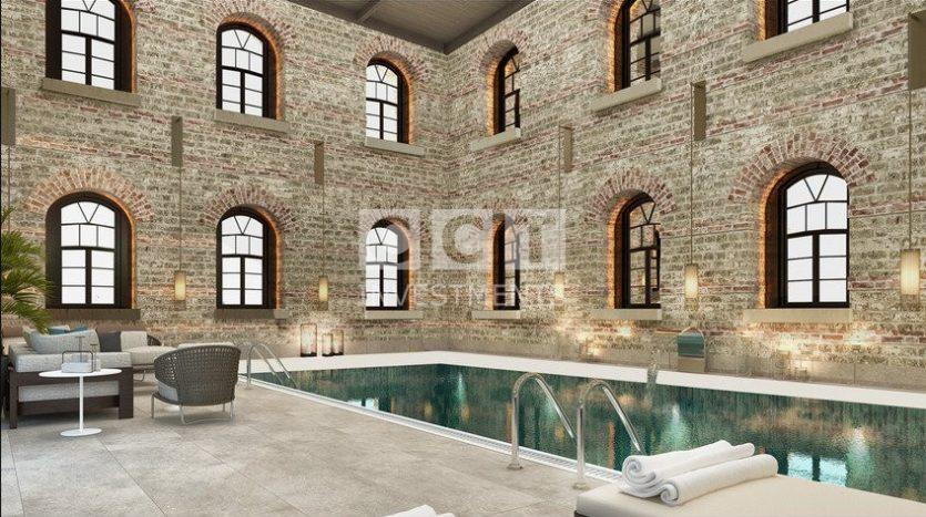 Swimming pool in CCT 266 project