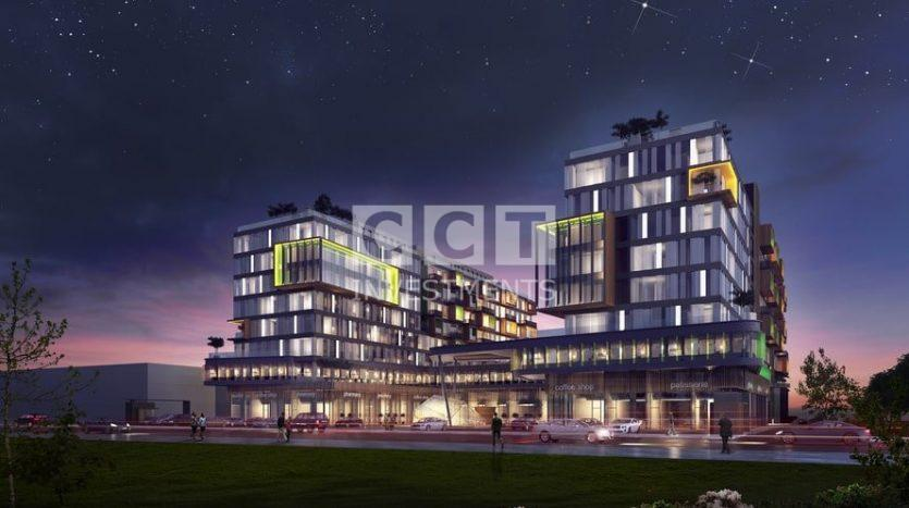 CCT 266 project in night
