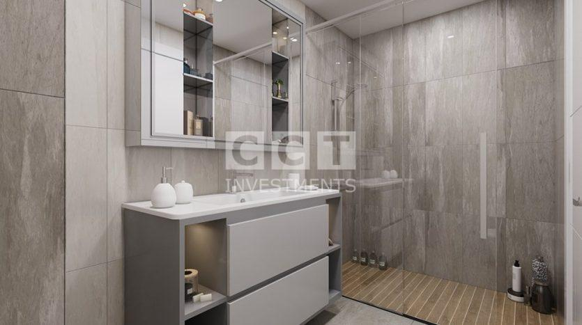 Bathroom in CCT 270 project