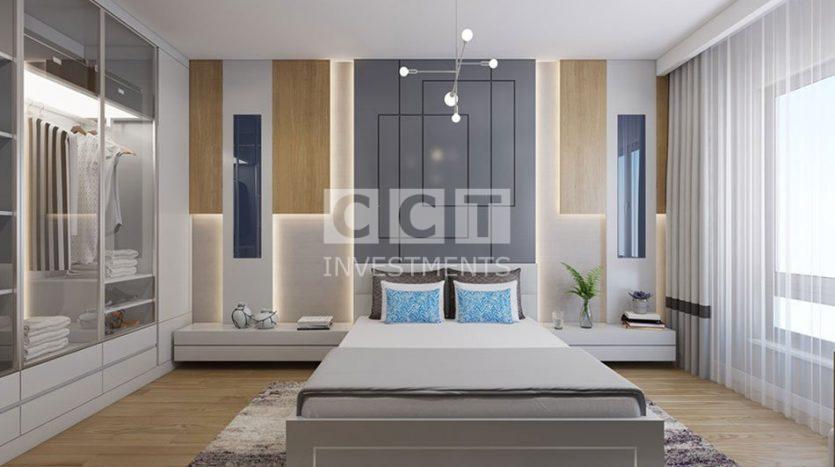 إحدى غرف النوم في مشروع CCT 270