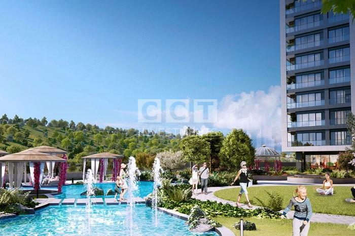 Landscape areas in CCT 179 project