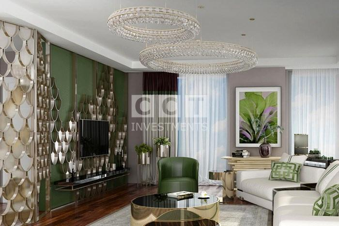 living room in CCT 279 project