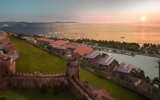 CCT 292 amazing sea view real estate project when it sunset