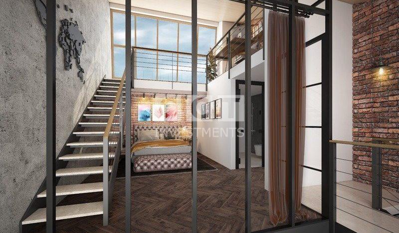 الدرج العلوي مع غرفة النوم لمشروع 292