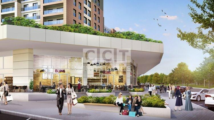 Shopping center in CCT 310 project