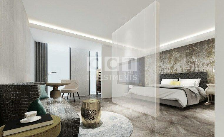 إحدى غرف النوم في المشروع الفندقي 313