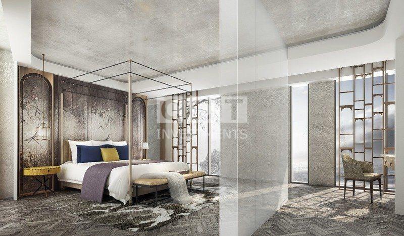 إحدى غرفة النوم في المشروع الفندقي 313