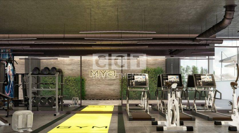 The gym of CCT 288 project