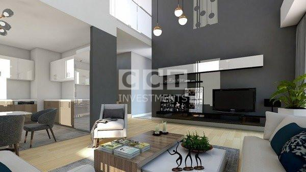 Living room in CCT 288 project