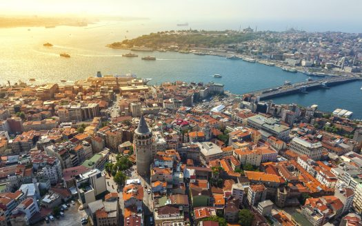 Galata District of Istanbul