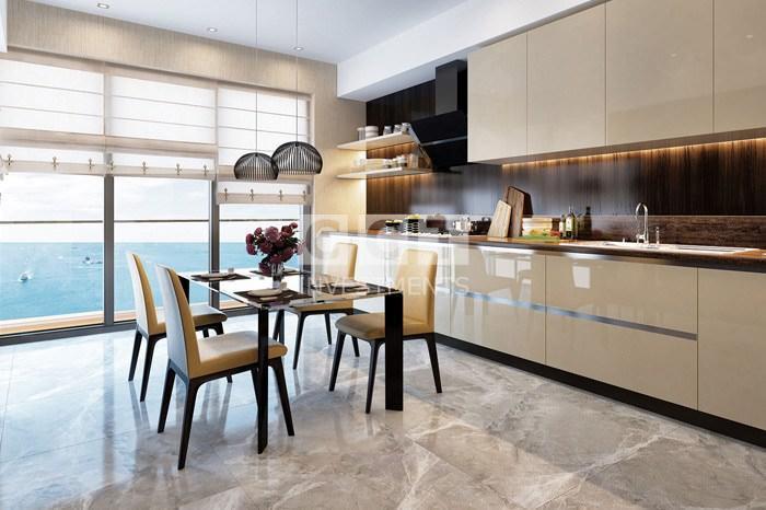 الإطلالة من المطبخ في مشروع CCT 311