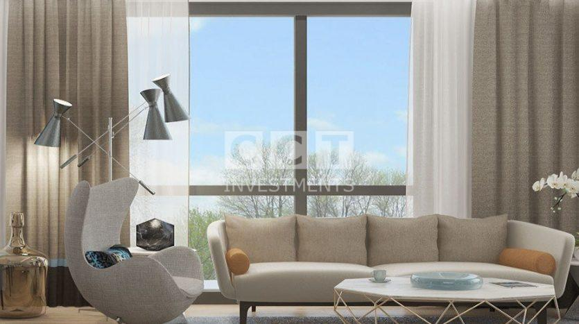 One of the living rooms in CCT 297 project