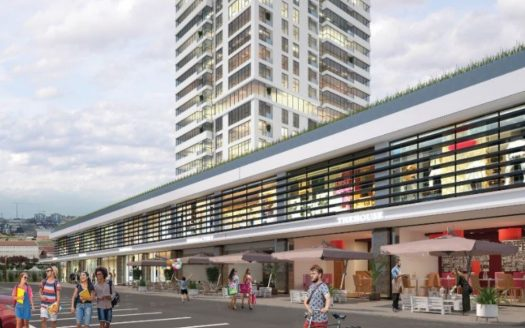 Shopping center in CCT 327 project