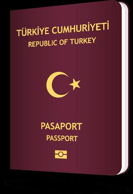 Turkish passport tall
