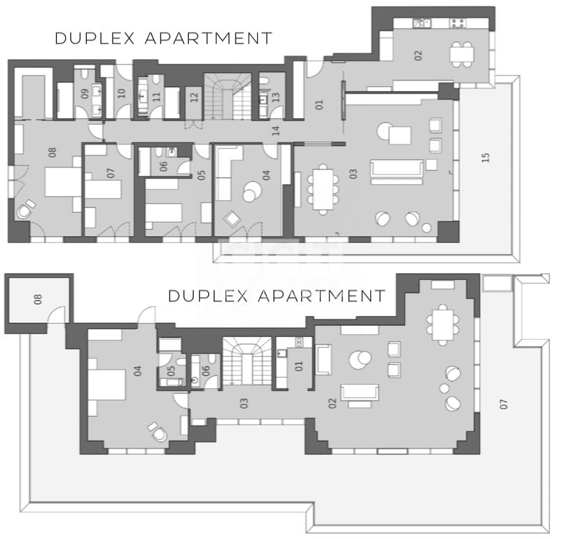 B 5+2 Duplex