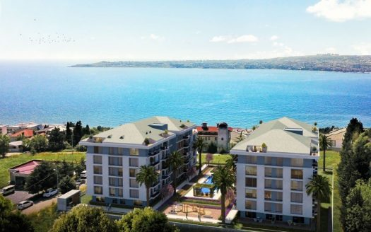 Casablue Istanbul project with sea view